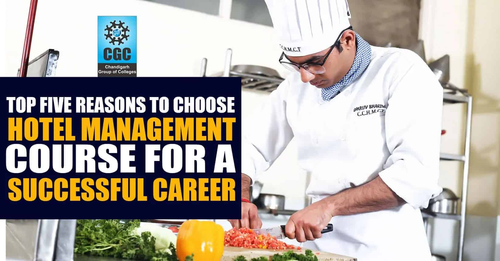 Five good reasons to choose Hotel Management course for a successful career