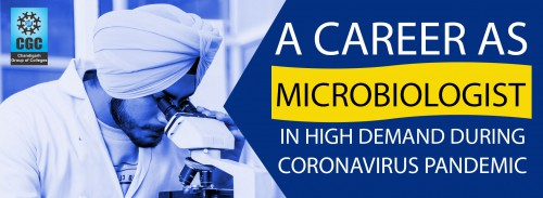 A career as Microbiologist in high demand during Coronavirus Pandemic