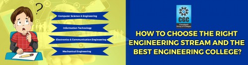 How to choose the right engineering stream and the best Engineering College?