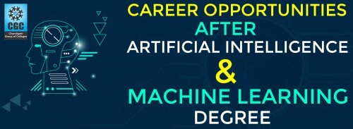 Career Opportunities after Artificial Intelligence & Machine Learning Degree