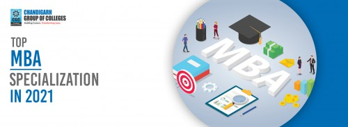 Top MBA specialization in 2021